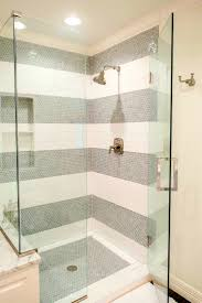 bathroom breathtaking white subway tile shower cool stall wall