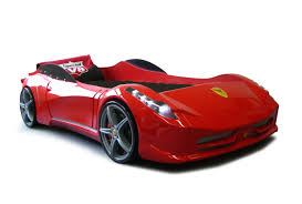 Unusual Mrx Blue Race Car Bed Car Bed Shop To Awesome Ferrari