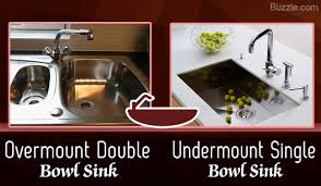 Overmount Double Kitchen Sink by What Are The Types Of Kitchen Sinks And How Do They Work