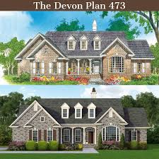 1 Story Craftsman House Plans