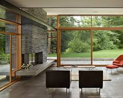 Mid Century Modern House Designs Photo by Mid Century Modern Home With A Nature Backdrop Mid Century