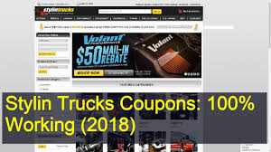 100 Stylin Trucks Coupons 100 Working 2018 YouTube