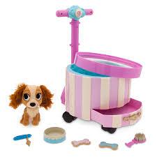 Lady Pet Carrier Playset Disney Furrytale Friends ShopDisney
