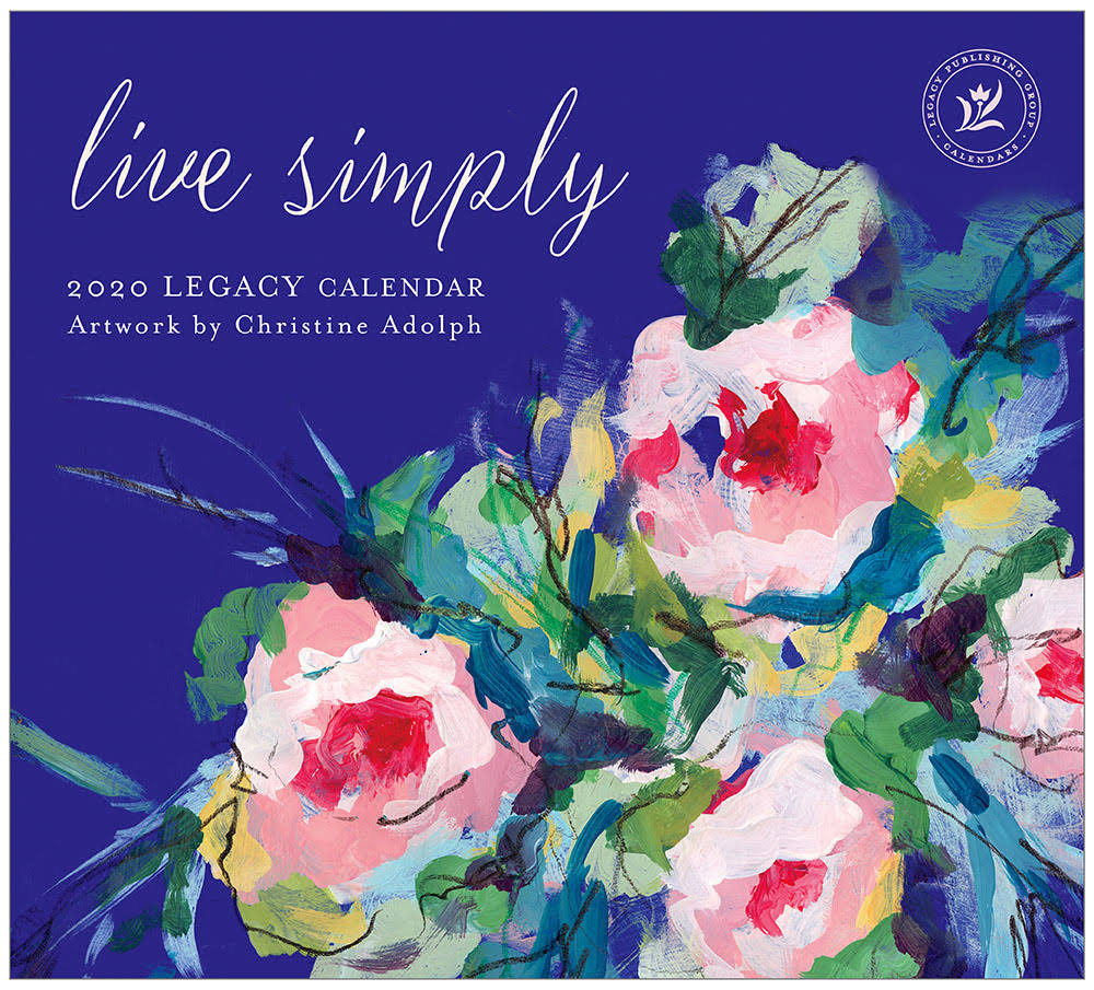 Legacy Publishing Group 2020 Wall Calendar, Live Simply