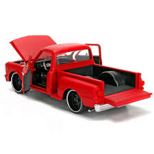 100 Stepside Trucks Jada 99322 Just 1969 Chevrolet C10 Pick Up Truck 1