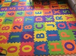 26pcs Soft EVA Foam Baby Kids Play Mat Alphabet Number