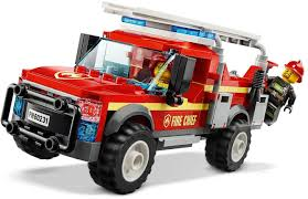 100 Fire Trucks Toys Chief Response Truck 60231