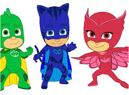 Pj Masks Coloring Pages Black And White Fresh Logo Clipart