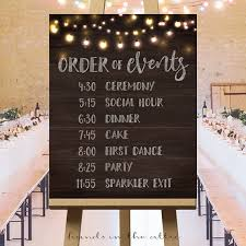Printable Large Wedding Signs Rustic Ideas