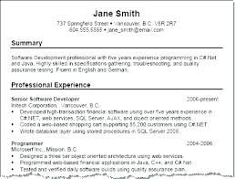 Professional Summary Example For Resume Luxury Of Sample