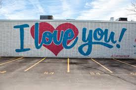 i love you graffiti dallas texas aitch eye photography