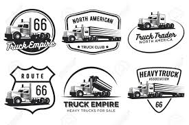 100 Truck Emblems Set Of Classic Heavy And Badges With