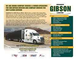 100 Gibson Truck Warren News