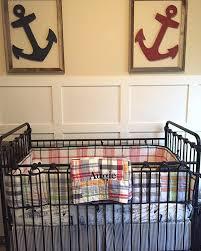 Nautical Crib Bedding by Ahoy It U0027s A Boy This Nautical Nursery Has Everything A Future