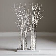 Buy John Lewis Pre Lit Birch Cluster From Our Christmas Trees Range At Partners