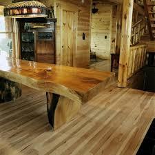 table en bois de cuisine table de cuisine bois bois exotiques imparfaits mais si beaux