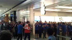 Grand Opening Apple Store Garden City Perth