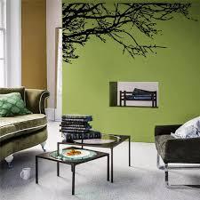 removabl decor vinyl wandmalerei diy schwarz ast wandaufkleber aufkleber wohnzimmer dekoration
