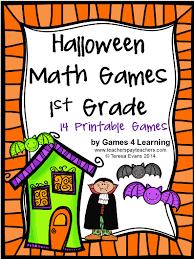 Halloween Brain Teasers Math by Fun Games 4 Learning Halloween Math Freebies
