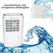klimaanlagen heizgeräte luftentfeuchter 26l