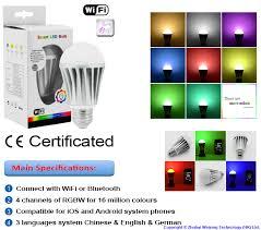 weixingtech release intelligent dimmable smart led bulb light