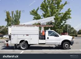 White Utility Truck Cherry Picker Parked Stock Photo (100% Legal ... Cherry Picker Scissor Lift Boom Truck Hire Sydney 46 Metre Vertical Tower Bucket Access Equipment Retro Illustration Mercedes Benz 4 Ton With 12m Cherry Picker Junk Mail Foton China Manufacturer Rhd High Altitude Operation Stock Vector Norsob 29622395 Flatbed Trailer Carrying A Border And Plant Up2it Ute Mounted Hirail Moves Between Jobs Wongms Photo