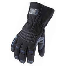 thermal waterproof utility work gloves with gauntlet ergodyne