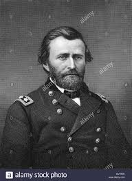Ulysses S Grant American General And 18th President Of The United States 19th Century Artist Robert E Whitechurch