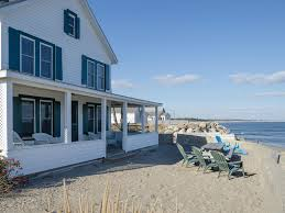 Classic Maine Oceanfront Cottage HomeAway Camp Ellis