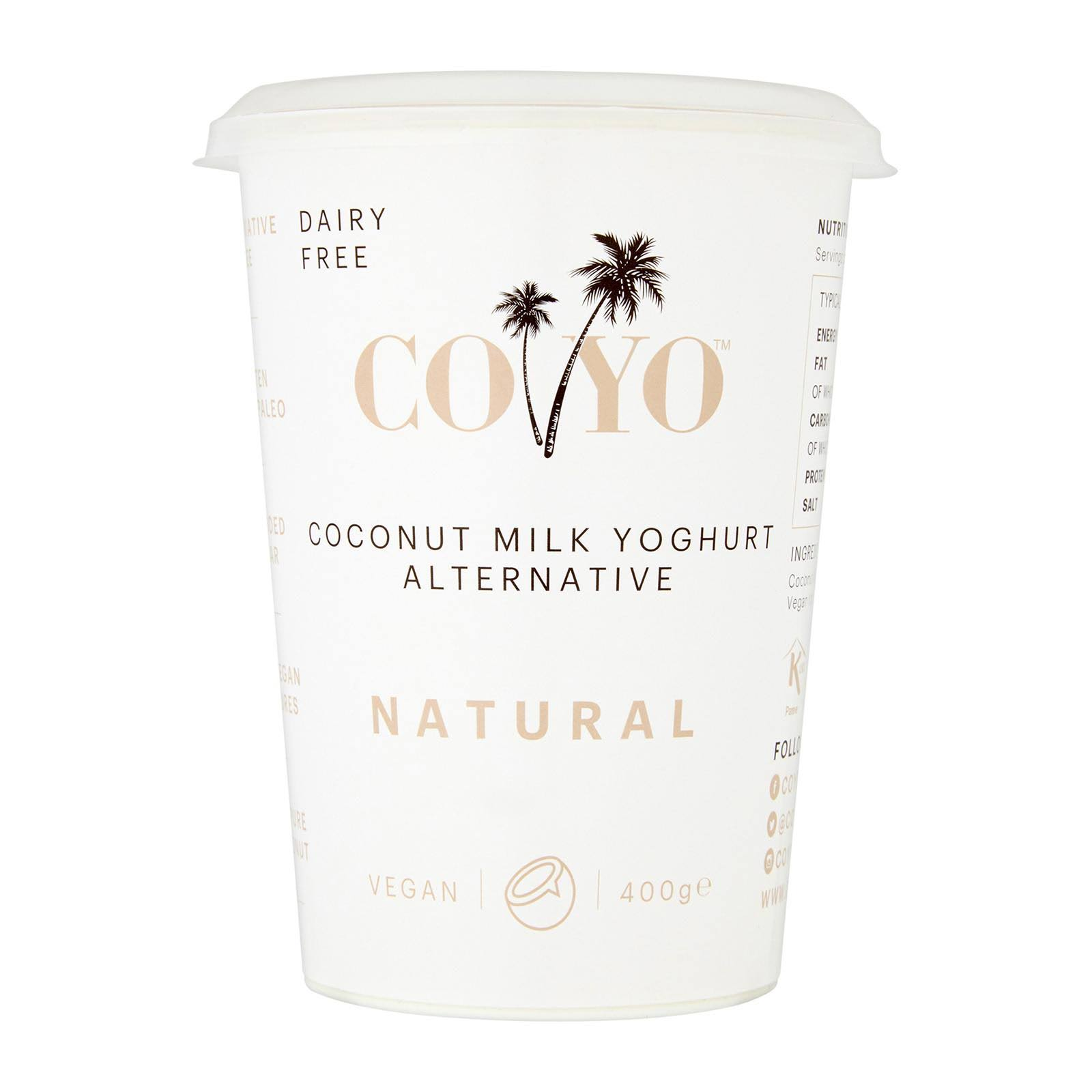 Co Yo Organic Natural Coconut Milk Yoghurt - 400g