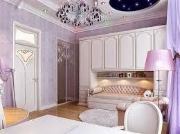 Classic Women Bedroom Decor With Unique Ceiling