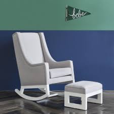 Rocking Chair Ottoman The Best Feeding Chair And Nursing Chairs ... Sereno White Nursing Glider Maternity Rocking Chair With Glide Rockers And Gliders Nebraska Fniture Mart Detective Rocker 1888 Patent Is Valued At Modern Rocking Chairs Allmodern Bestchoiceproducts Best Choice Products Indoor Outdoor Home Wooden Add A Comfy Stylish Or Glider To Your Nursery Make Kohls Nursery Lazboy Mack Milo Aisley Recling Reviews Wayfair Trango Swivel Recliner Ottoman Set Brown 88 Off Abbyson Living Grey White