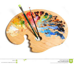Top Artist Palette Clipart Brushes File Free