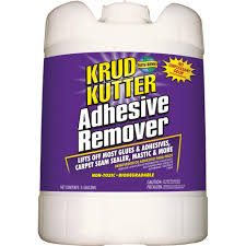 Tile Adhesive Remover Home Depot by Krud Kutter 5 Gal Adhesive Remover Ar05 The Home Depot