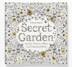 BOOK CLUB Coloring For Grown Ups A Proven Stress Reliever Secret Garden Book Cover