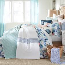 Beaded Curtains Bed Bath And Beyond by Coastal Living Coastal Stripe Twin Quilt Set In Taupe Striped