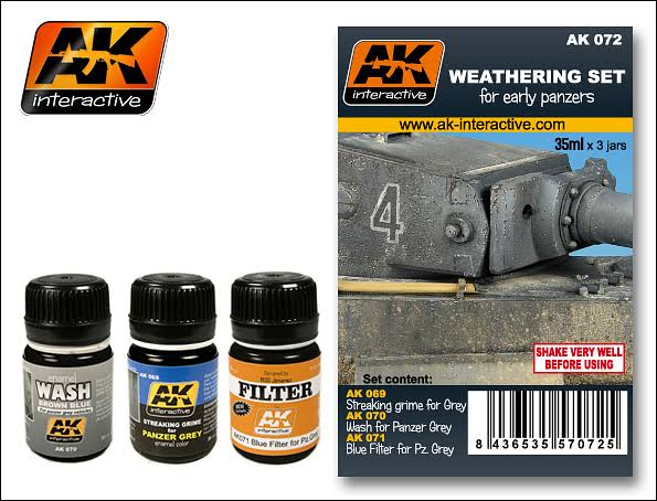 Ak Ak07 Weathering Set