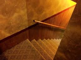 installer une courante dans un escalier