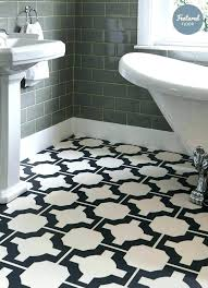 Black And White Vinyl Floor Tiles Balletfactoryco