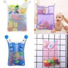 baby aufbewahrung tasche spielzeug waschbar netz badezimmer