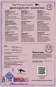 Bathtub Gin Nyc Menu by Lunch And Learn U2013 Hhs