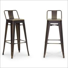 Counter Height Chairs With Backs by Dining Room Amazing Low Bar Chairs Wood And Metal Bar Stools