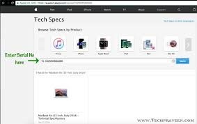Identify your iMac Serial Number Model Number and Technical Spec