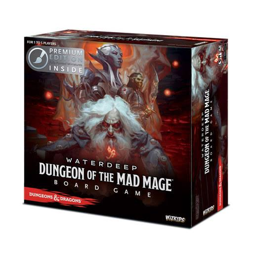 Dungeons & Dragons: Waterdeep - Dungeon of The Mad Mage Board Game (premium Edition)