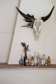 Decorated Cow Skulls Pinterest by 456 Best Antlers Skulls And Bones Images On Pinterest Antlers