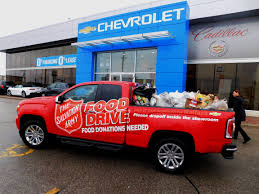 WallaceChev Salvation Army Food Drive