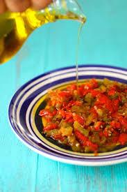 cuisine nord africaine felfla hmiss slata mechouia recettes salades