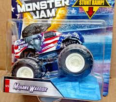 Hot Wheels Monster Jam MOHAWK WARRIOR 5 Of 5 New Stars And Stripes ... Hot Wheels Monster Jam Mohawk Warrior Chrome 2017 Unboxing Youtube Colctible Jammystery Trucks Flk27 Mohawk Warrior Truck Cake Trucking Stars Stripes 55 W Wiki Fandom Powered By Wikia Purple With Silver Hair And Other Jams Toys Games Vehicles Remote Hot Wheels Monster Jam Includes Team Flag New Bright 143 Scale Rc 360 Flip Set Llfunction Mini Car Black Avenger Trucks Pinterest