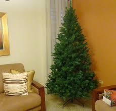 Pre Lit Point Pine Tree 7 Feet