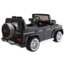 100 Kids Electric Truck Baby Ride On Toy Car Licensed Mercedes Benz G55 12V